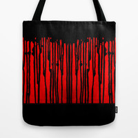 Partial Abstract V1 Tote Bag by Bruce Stanfield