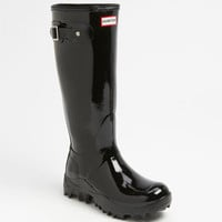 Hunter 'Snow' Gloss Rain Boot (Women)