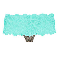 Rose Lace Cheekster Panty - PINK - Victoria's Secret