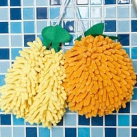 INFMETRY:: Fruit Shape Chenille Hand Towel - New Products