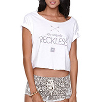 Young and Reckless Arrow Rolled Sleeve Tee at PacSun.com