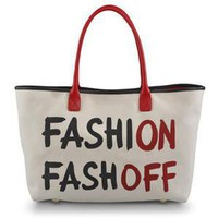 Moschino Online Store - Bags - Large fabric bag