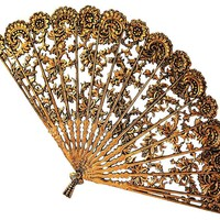 One Kings Lane - Presenting the Past - Ornate Flowering Wall Fan