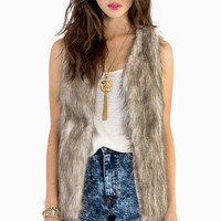 Fur Ever My Very Vest $53