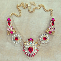 Pree Brulee - Swiss Ives Statement Necklace