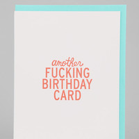 Another Birthday Card - Urban Outfitters