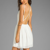 DV by Dolce Vita Hanni Mini Dress in White