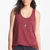 BP. Racerback Cotton Tank (Juniors) | Nordstrom