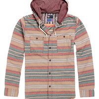 Modern Amusement Mojave Hooded Long Sleeve Woven Shirt at PacSun.com