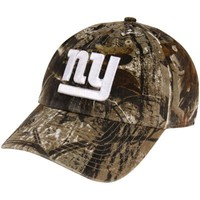 '47 Brand New York Giants Clean Up Adjustable Hat - Realtree Camo