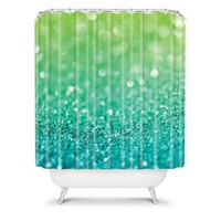 DENY Designs Lisa Argyropoulos Sea Breeze Fabric Shower Curtain