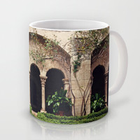 Van Gogh's Courtyard in St Remy Mug by Around the Island (Robin Epstein)