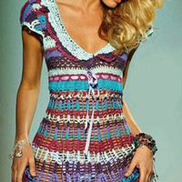 Agua Bendita Swimwear 2011 - Fortuna Dress at Tropi-Ties