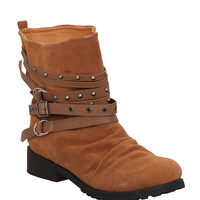N.Y.L.A. Santa Fe Tan Boots | Hot Topic