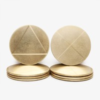 Poketo Solid Brass Coaster