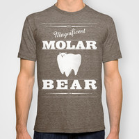 Molar Bear (Gentlemen's Edition) T-shirt by Zach Terrell