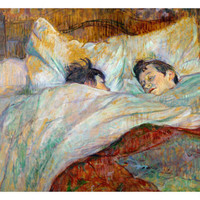 The Bed (Le Lit), 1892 Giclee Print by Henri de Toulouse-Lautrec at Art.com