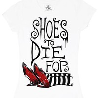 Shoes To Die For - Wizard Of Oz Sheer Women&#x27;s T-shirt