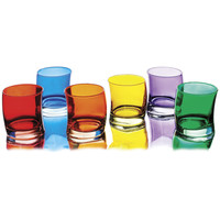SWING SHORT TUMBLERS | Whiskey Tumblers - Curved Glasses in Bright Colors for Dinner Party Fun | UncommonGoods