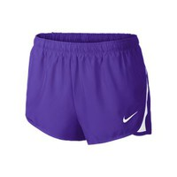 Nike Dash Women's Track and Field Shorts - Team Purple