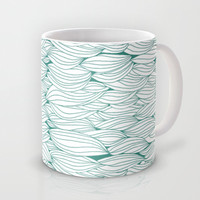 Dancing Feathers Mug by Pom Graphic Design