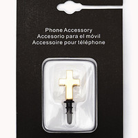 Cross Phone Charm