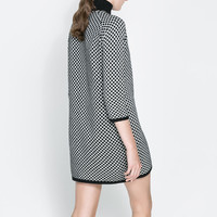JACQUARD DRESS - Dresses - WOMAN | ZARA United States
