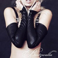 Gloves, Fingerles French Opera Gloves by Bootzwalla on Sense of Fashion