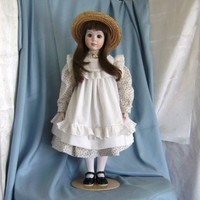 Handmade Artist Porcelain Collector Doll named Melissa | AppleJar - Dolls &amp; Miniatures on ArtFire