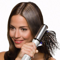 The Time Saving Hair Straightener - Hammacher Schlemmer