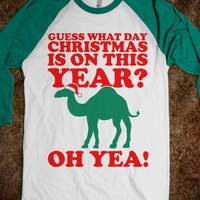 Guess What Day Christmas is on this Year?