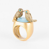 Juicy Couture Kissing Birds Ring :: tobi