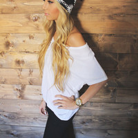 Turban Headband -- B/W Tribal