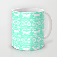Tiffany Ugly Holiday Sweater Pattern Mug by RexLambo