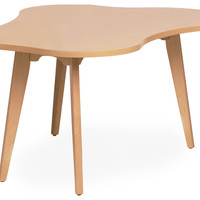 child's risom amoeba table