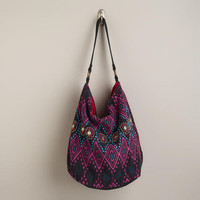 Black and Pink Diamonds Bag | World Market