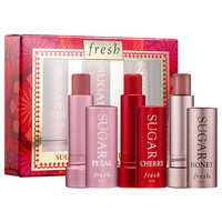 Sephora: Fresh : Sugar Kisses Mini Lip Trio : skin-care-sets-travel-value