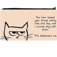 Angry Cat Large Clutch