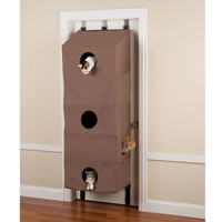 The Over The Door Cat Condo - Hammacher Schlemmer