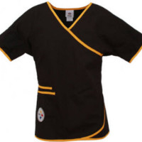 Pittsburgh Steelers Scrub Top and NFL medical scrubs