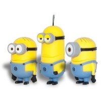 Despicable Me 2 Minions 3 Pack 32gb USB Flash Drive