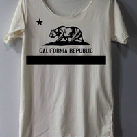 California Republic Shirt Bear Flag Republic Bear Republic Shirt TShirt T Shirt Tee Shirts - Size S M L