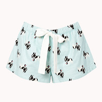 French Bulldog Frenzy PJ Shorts