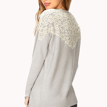 Sweet Lace Sweater
