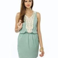 Cute Green Dress - Mint Dress - &amp;#36;39.00