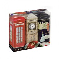 Ahmad Tea Explore London Teabag Caddy