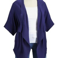 Old Navy Womens Plus Dolman Tie Front Cardigan