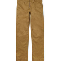 J.Crew Cambridge Regular-Fit Cotton-Twill Chinos | MR PORTER