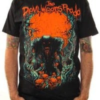 The Devil Wears Prada T-Shirt - Blood Red Moon