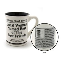 Enesco Best Friends Mug, 4.5-inch